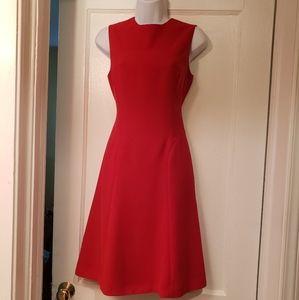 Moda International red Aline dress
